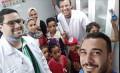 جامعة القاهرة تختتم فعاليات القافلة الشاملة لمدينتي حلايب وشلاتين بتوزيع فوانيس رمضان وسلع غذائية