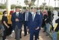 أبو الغيط والخشت يزرعان شجرة زيتون في جامعة القاهرة للدعوة إلى السلام بين العقول ورمز للحياة