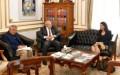 رئيس جامعة القاهرة يستقبل رئيس هيئة فولبرايت بالقاهرة ووفد معهد التعليم الدولي بأمريكا