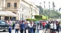 انتظام الدراسة بكليات جامعة القاهرة من اليوم الأول .. د. الخشت: هدفنا بناء شخصية الطلاب وحلول عاجلة لمشاكلهم