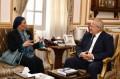 رئيس جامعة القاهرة يستقبل وزيرة البيئة بمكتبه ويؤكد الاهتمام بالبيئة جزء من الحضارة