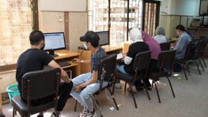 معامل جامعة القاهرة تستقبل طلاب الثانوية العامة لإجراء تنسيق المرحلة الثالثة .. ومستشفى الطلبة تجري الكشف الطبي لطلاب كلية الطب البيطري
