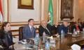 رئيس جامعة القاهرة يستقبل رئيس جامعة بيلاروسيا لبحث سبل التعاون المشترك أكاديميًا وبحثيًا