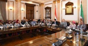 رئيس جامعة القاهرة بمعسكر إعداد قادة المستقبل: نعمل على النهوض بمستوي الطلاب من خلال مشروع تطوير العقل المصري