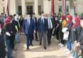 رئيس جامعة القاهرة يستقبل أبو الغيط في حوار مفتوح مع طلاب الجامعة