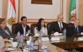 مجلس جامعة القاهرة يستقبل رئيسة اتحاد الطلاب ونائبها لتهنئتهما بالفوز