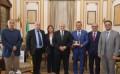 رئيس جامعة القاهرة يستقبل وفد جامعة بوخارست لبحث سبل التعاون المشترك