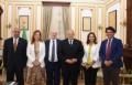 رئيس جامعة القاهرة يلتقي وفد الجامعة الكاثوليكية بروما لبحث سبل التعاون الأكاديمي والتبادل الطلابي