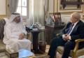 د. الخشت يلتقى مدير مؤسسة محمد بن راشد للمعرفة : تعزيز آفاق التعاون المشترك بين المؤسسة وجامعة القاهرة