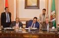 توقيع بروتوكول تعاون بين جامعة القاهرة ووكالة الفضاء المصرية
