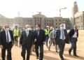 د. الخشت يتابع سير العمل بمشروع جامعة القاهرة الدولية بمدينة 6 اكتوبر تمهيدا لافتتاحها في يونيو المقبل