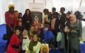 وفد من طالبات مدن جامعة القاهرة يزرن معرض الكتاب