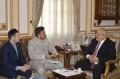 رئيس جامعة القاهرة يلتقي وفد أكاديمية بلغار الإسلامية بجمهورية تتارستان لمناقشة سبل التعاون