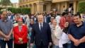 رئيس جامعة القاهرة يتفقد سير الامتحانات بالحرم الجامعي .. ويؤكد لم نتلقي شكاوي بسبب الموجة الحارة