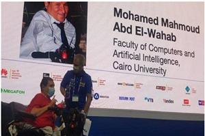 في أقوى مسابقة جامعية على مستوى العالم : فوز مدرس مساعد بكلية حاسبات جامعة القاهرة بجائزة مسابقة البرمجة الجامعية الدولية