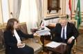 رئيس جامعة القاهرة يبحث مع وزيرة التضامن مشروع
