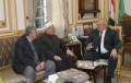 رئيس جامعة القاهرة يستقبل مفتي الجمهورية لمناقشة قضايا التجديد وسبل التعاون العلمي بين الجانبين